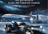 The Batmobile flies on Turkish Cargo_ad_march 2016