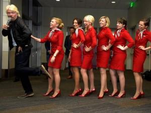Virgin America Denver Launch