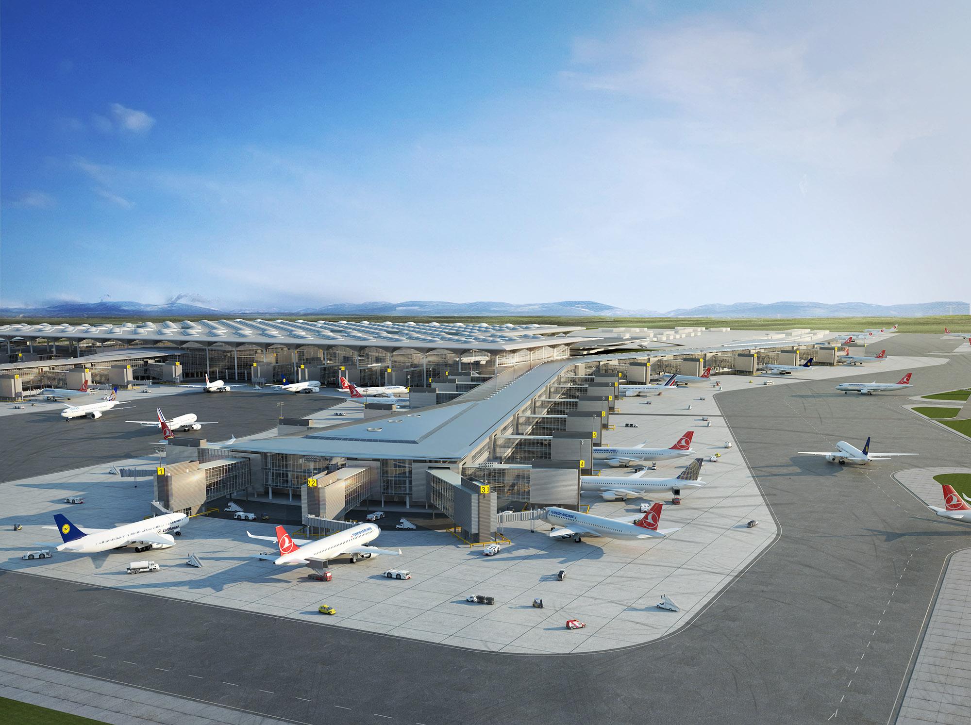 İstanbul Yeni Havalimanı Na 1 7 Milyar Euro Harcandı Havayolu 101