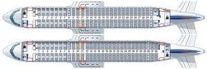 Lufthansa_Airbus A320ceo vs A320neo_seat-map_space flex_lopa