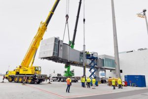 Munich Airport_new satellite terminal_26 March 2015 Successfully bridging the gap