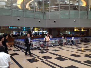 Singapore Changi Airport_August 2015_Trolley