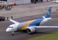 Embraer E2 First Flight - Best Moments
