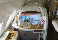 Emirates A380 First Class Dubai to Amsterdam - a trip report