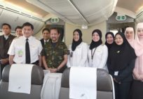 His Majesty The Sultan of Brunei Flew Boeing 787