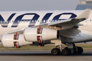 Thrust Reversal_Cold Stream Pivoting Doors Reverser_Finnair_Airbus A340