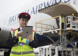 British Airways, iş süreçlerinin bir çok noktasında iPad kullanıyor.