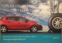 London Gatwick Airport - Car Park Ad (June 2016)