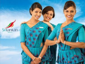 SriLankan Airlines cabin crew