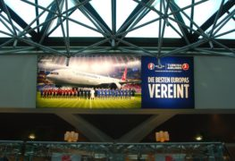 Turkish Airlines Euro 2016 Ad @ Berlin Tegel Airport  (June 2016)