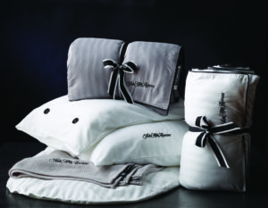 United Polaris Saks Fifth Avenue designed the new bedding