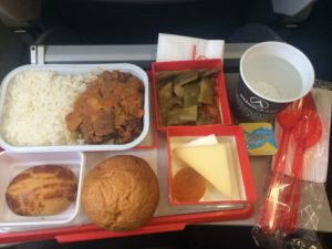Atlas Global Inflight Meal (London-Istanbul) - July 2016