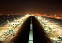 Emirates Fleet at Dubai International Timelapse