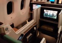 Oman Air Business Class Boeing 787 Review Muscat to Bangkok