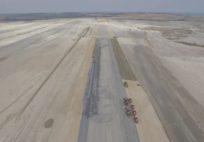İstanbul Yeni Havalimanı Pist Çalışmaları
