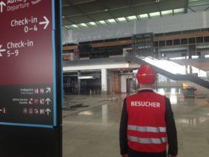 Berlin Brandenburg Havalimanı Terminali (Ağustos 2016)