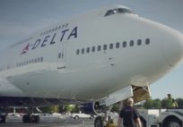 The First Boeing 747-400 @ Delta Flight Museum