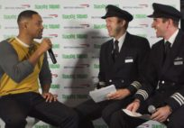 Will Smith Impersonates British Airways Pilots