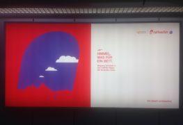 airberlin: Himmel, was für ein Bett (Berlin Tegel Flughafen)