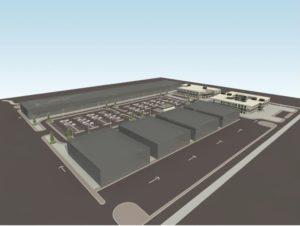 İstanbul Yeni Havalimanı - Kargo Hizmet Binaları