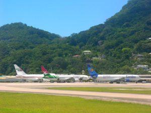 Seyşeller Havalimanı (Foto: Hansueli Krapf)