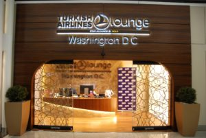 Turkish Airlines Lounge @ Washington Dulles Airport