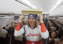 swiss-ski-athletes-surprise-swiss-flight-guests