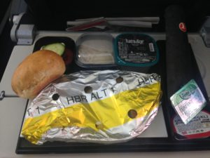 Turkish Airlines Inflight Meal (Economy Class)