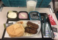 Izgara Köfte, Kuru Fasülye, Tereyağlı Pilav (Grilled Minced Beef, Cannelini Beans, Buttered Rice)