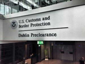 ABD Gümrük Ön İşlem Noktası @ Dublin Havalimanı