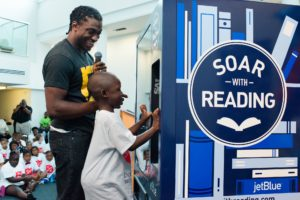 """JetBlue - """"Soar with reading"""""""
