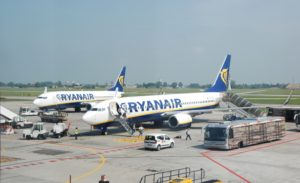 Ryanair_Boeing 737_Bologna Airport
