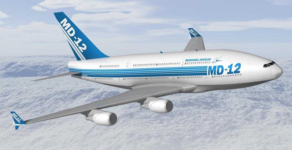 McDonnell Douglas MD-12_havayolu_ucak