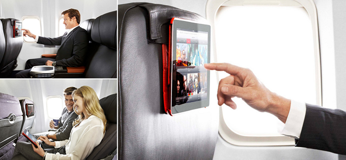 Qantas_Boeing_767-iPad-holder