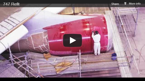 Virgin Atlantic - Boeing 747 Refit