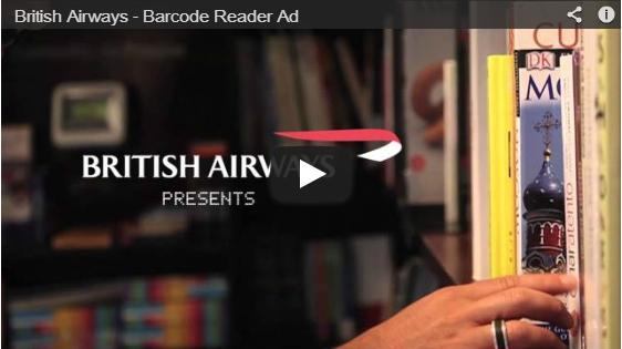 British Airways_barcode ad