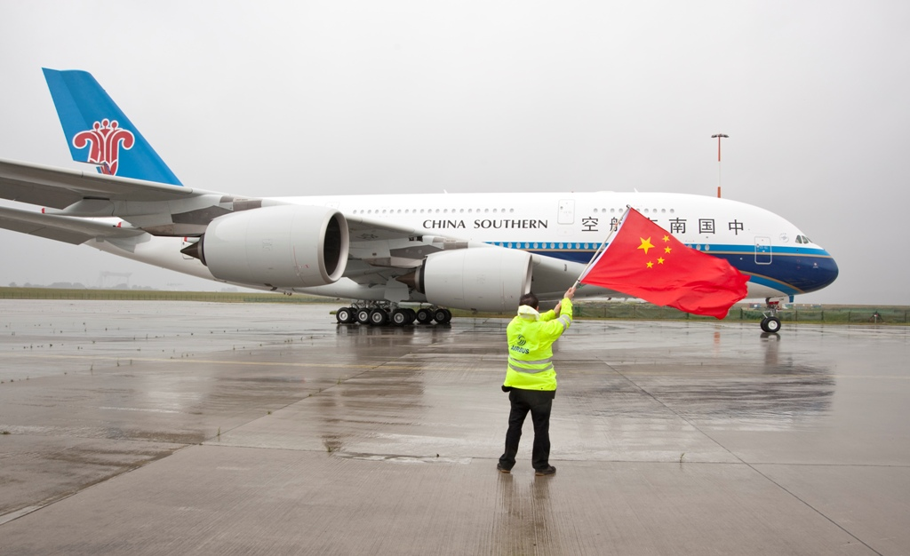 China_Southern_Airlines_Airbus A380