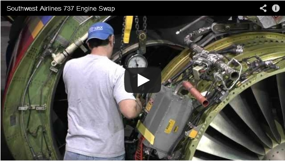 Southwest Airlines - Boeing 737 Engine Swap