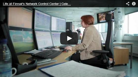 Finnair_Network Control Center