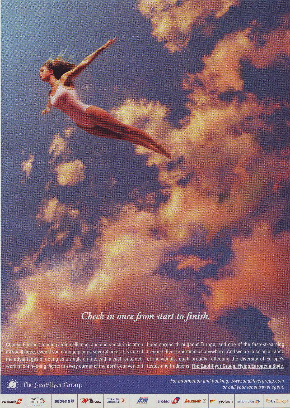 Qualiflyer Group_Flying European Style_ad_1999