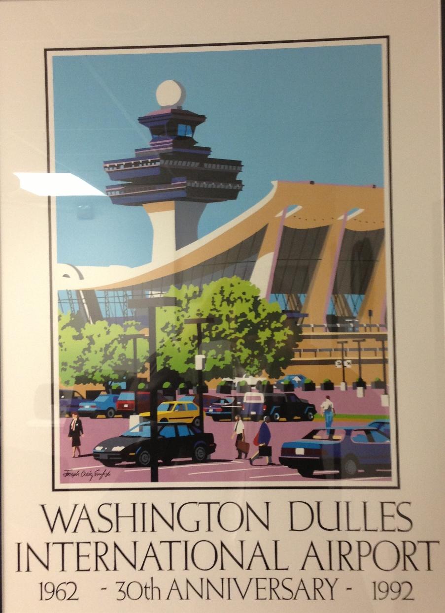 Washington Dulles International Airport IAD 1992