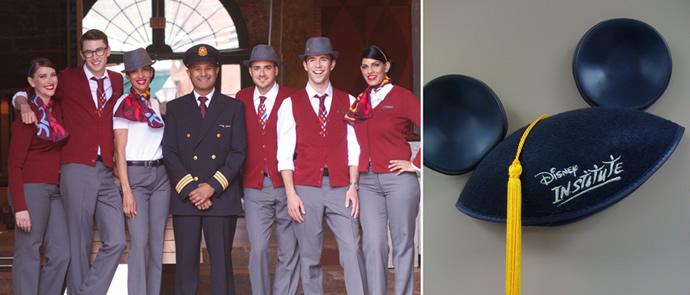 Air Canada-Rouge-Disney_training