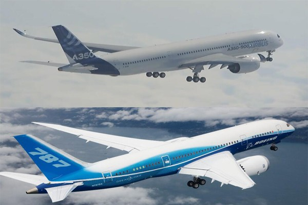 Airbus A350 vs Boeing 787