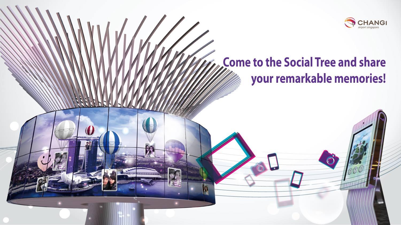Changi Airport Social Tree