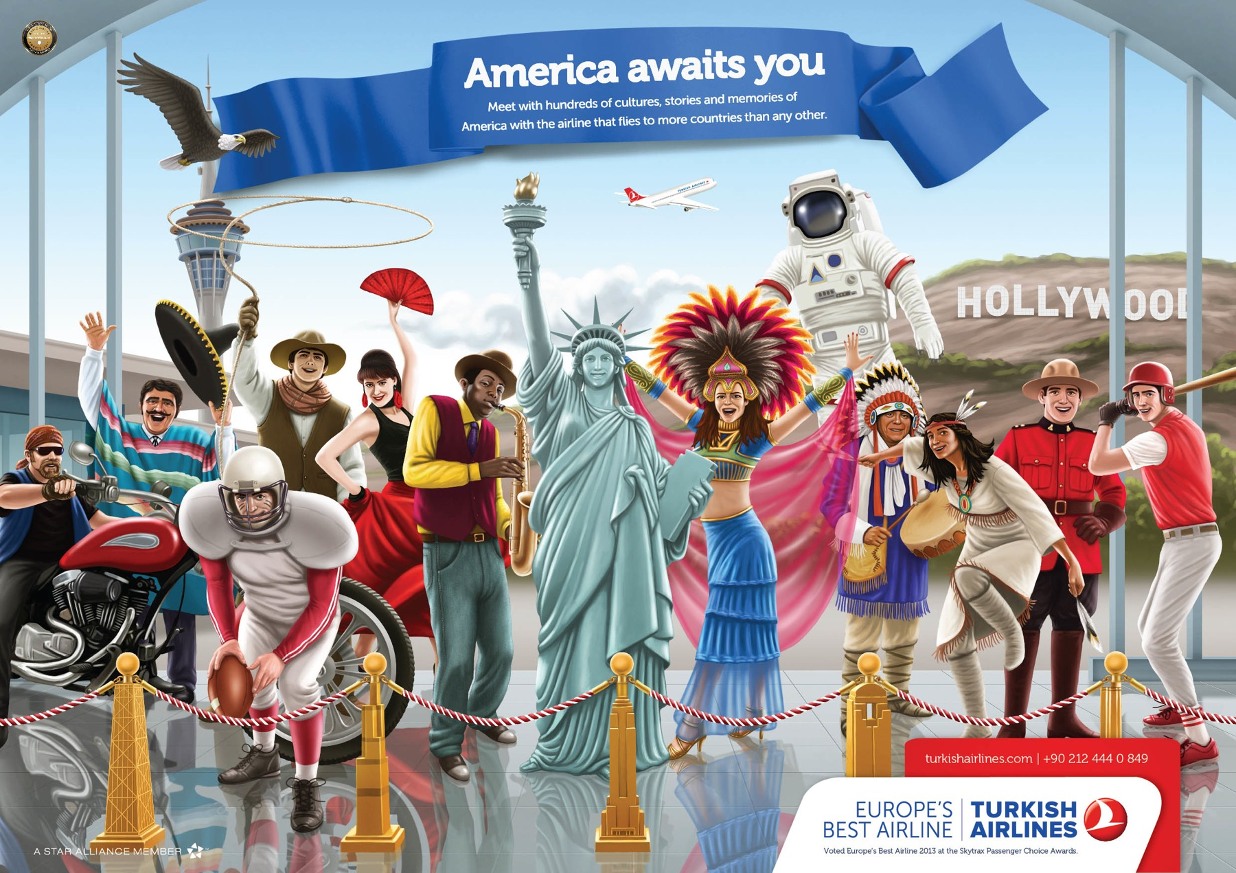 Turkish Airlines_commercial_america awaits you_2013