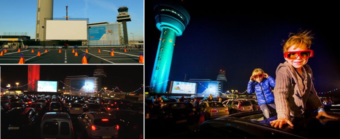 KLM_Schiphol-Airport_Disney-Planes_drive-in-cinema