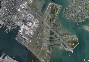 Boston Logan Airport_satellite image