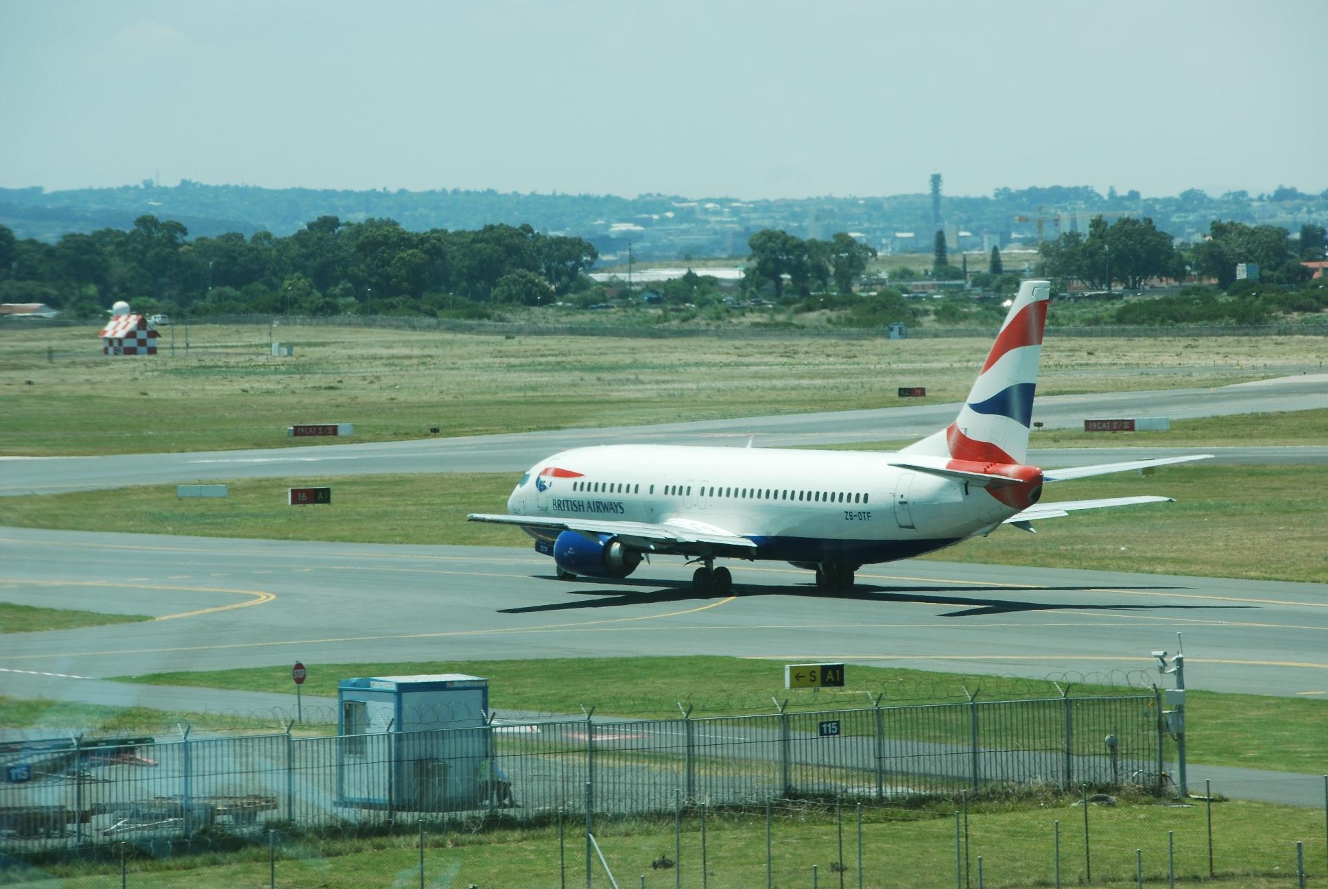 British Airways_Comair_Cape Town_Boeing 737_Jan 2014
