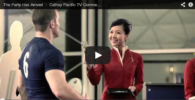 Cathay Pacific TV Commercial - The Party Has Arrived