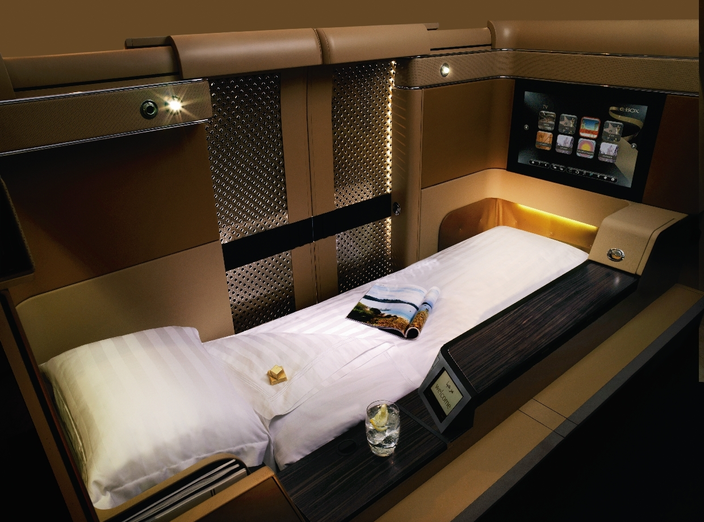 Etihad-First-Class-Bed